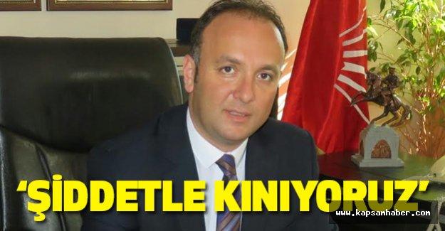Samsun CHP: Tezcan'a yapılan Saldırıyı Kınıyoruz