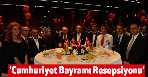 Samsun'da, 'Cumhuriyet Bayramı Resepsiyonu'