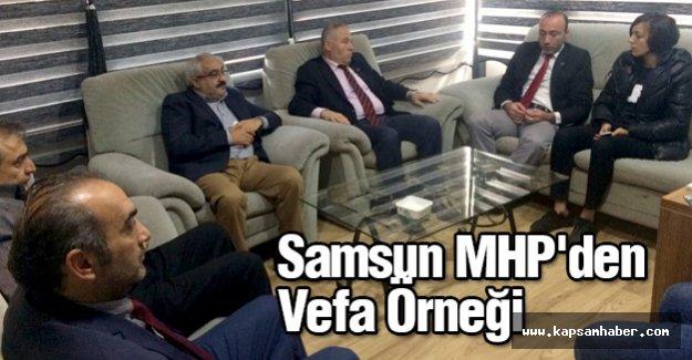 Samsun MHP'den Vefa Örneği