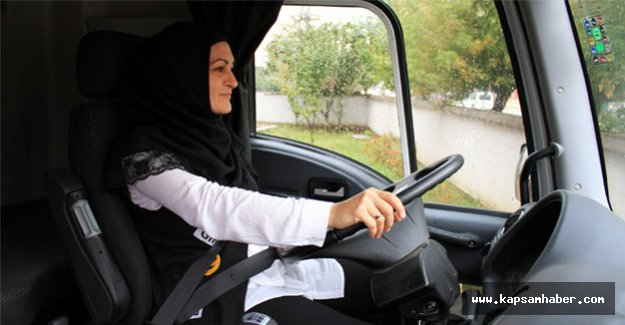 TIR Şoför Ayşen Akçay'ın Tek Hayali Var
