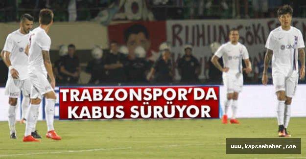 Trabzonspor'da Hayal Kırıklığı Devam Ediyor