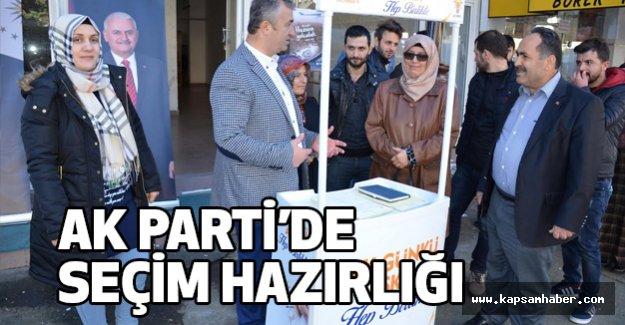 19 Mayıs, Ak Parti Kadın Kolları Seçim Hazırlığına Başladı