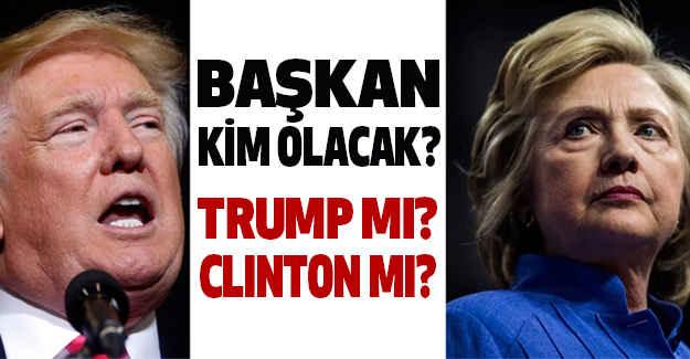 ABD Başkanı Kim: Trump' mı, Clinton' mı?