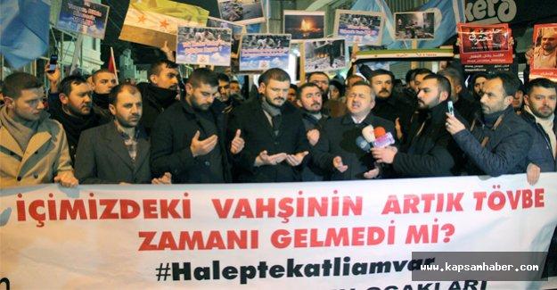 Alperenlerden Taksim'de protesto