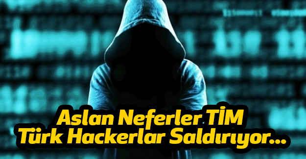 Aslan Neferler Türk Hackerlar Saldırıyor...