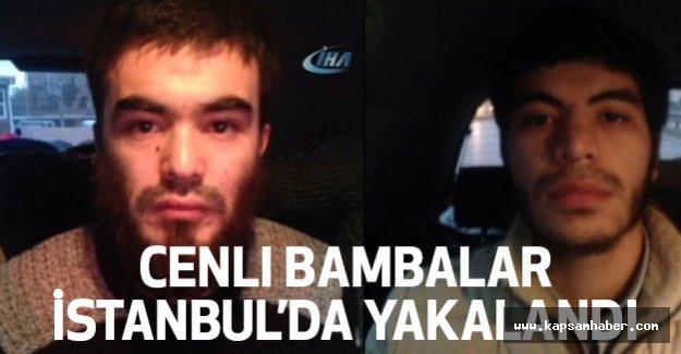 Canlı Bombalar İstanbul'da Yakalandı