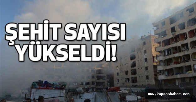 Diyarbakır'da Şehit Sayısı Yükseldi