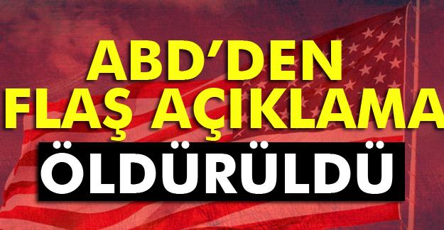 El Kaide lideri Afganistan'da öldürüldü