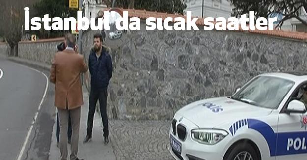 İstanbul'da sıcak saatler