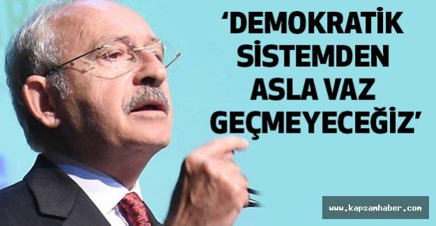 Kılıçdaroğlu; Biz Mustafa Kemal'in Askerleriyiz