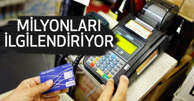 Kredi kartları Faiz Oranlarında İndirim...