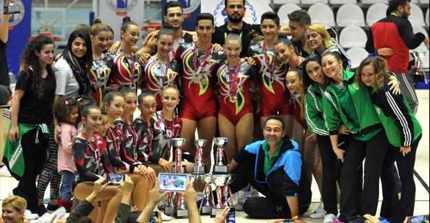Manisa'da Cimnastik Rüzgarı Esti