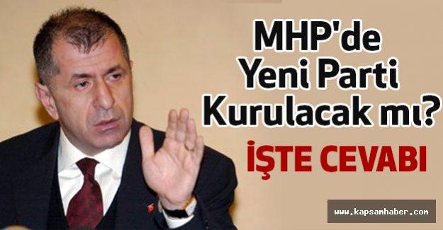 MHP'de Yeni Parti Kurulacak mı?