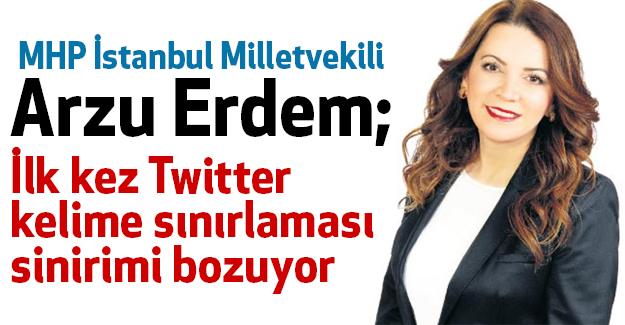 MHP'li Arzu Erdem; Meclise Getirilmesi bile vehim