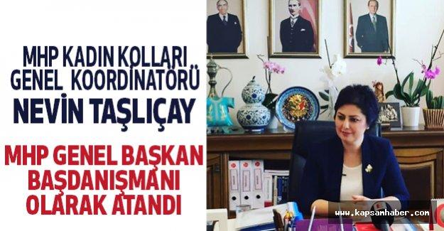 MHP'li Nevin Taşlıçay'a Yeni Görev