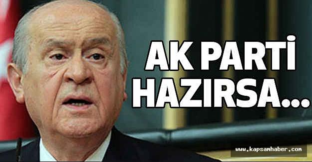 MHP Lideri Bahçeli, Grup Toplantısında konuştu
