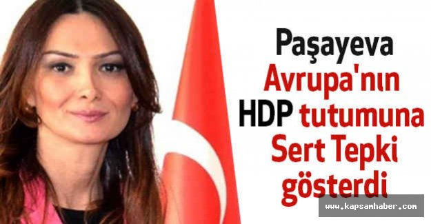 Paşayeva'dan Avrupa'nın HDP tutumuna Tepki!
