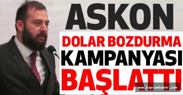 Samsun'da, Dolar Bozdurma Kampanyası