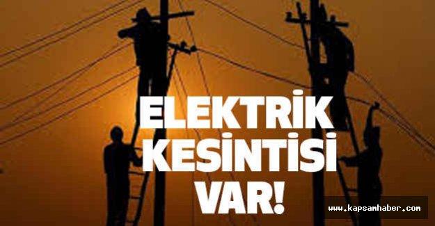 Samsun'da Elektrik Kesintisi Yapılacak