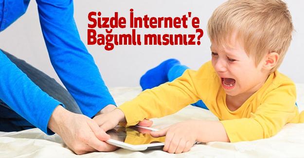 Sizde İnternet'e Bağımlı mısınız?