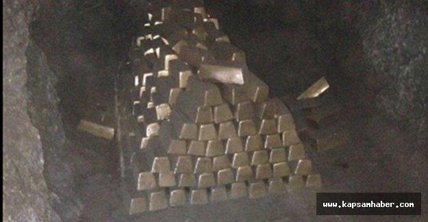 20 ton Altın  Ama...
