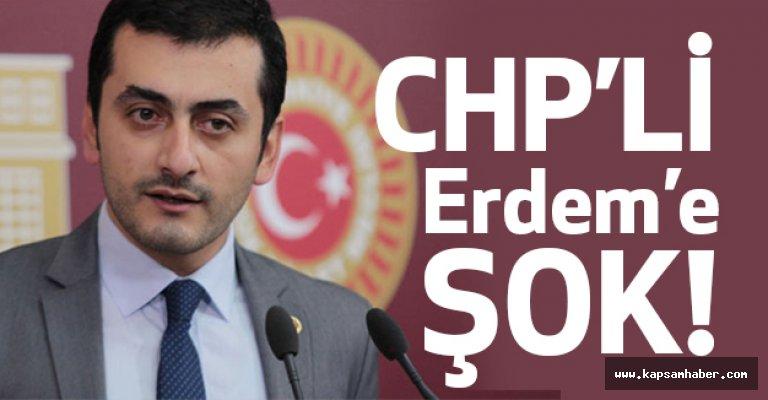 CHP'li Eren Erdem'e Şok!