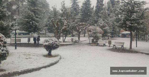 Denizli'de Kar Tatili