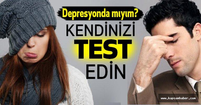 Depresyonda mıyım? Kendinizi Test Edin