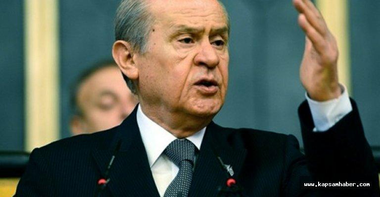 Devlet Bahçeli: Türkiye Seferdedir