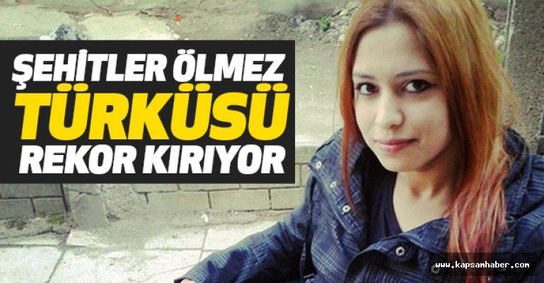 Düzceli Nazlı'nın 'Şehitler Ölmez' Türküsü Rekor Kırıyor
