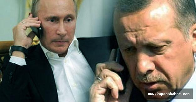 Erdoğan ile Putin Halep'i görüştü