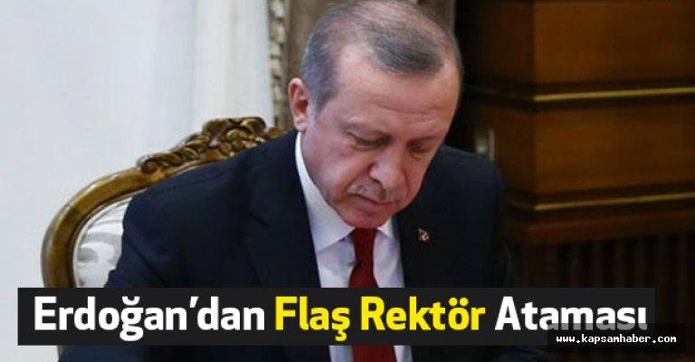 Erdoğan'dan Flaş Rektör Ataması