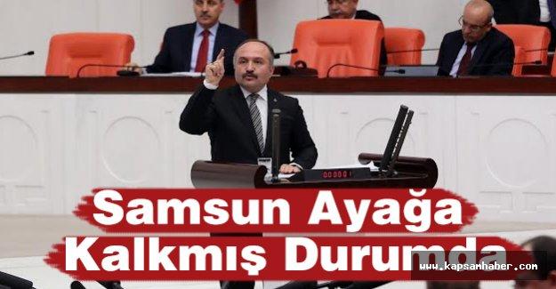 Erhan Usta: Samsun Ayağa Kalkmış Durumda