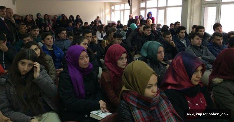 Erkan Kavaklı Samsun'da Öğrencilerle Bir Araya geldi