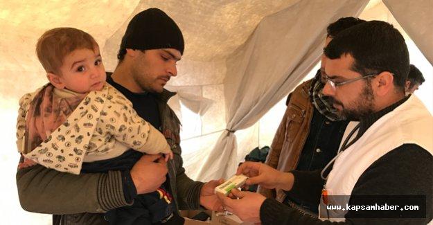 Gönüllü Türk Doktorlar Suriye'de