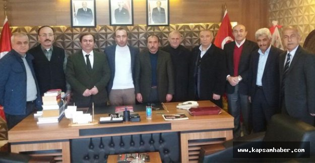 Gümüşhanelilerden MHP'ye Zyaret