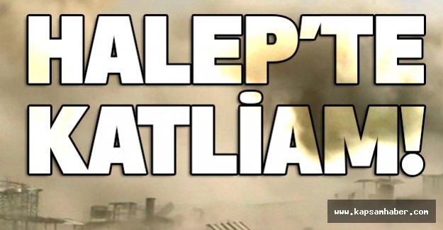 Halep'te katliamlar durmak bilmiyor