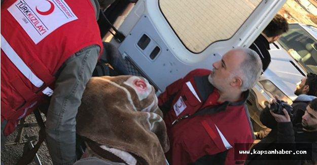 Halep'ten  10 yaralı Türkiye'ye giriş yaptı