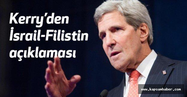 Kerry'den İsrail-Filistin açıklaması