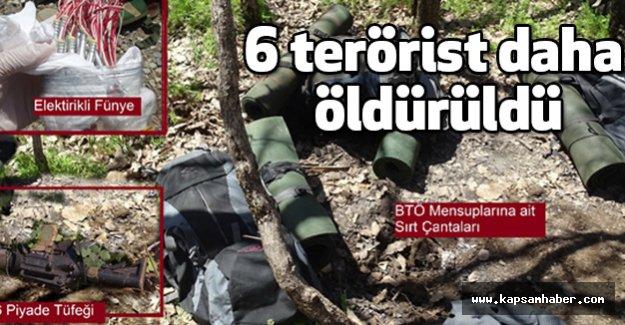 Lice'de 6 Terörist  Öldürüldü