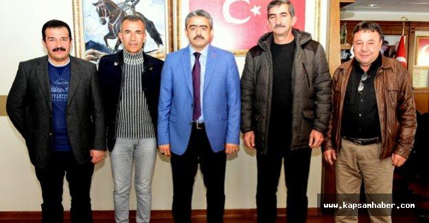 MHP'den  Başkan Alıcık'a ziyaret