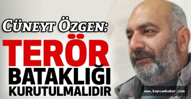 MHP Ladik İlçe Başkanı Özgen; Terör Bataklığı Kurutulmalıdır