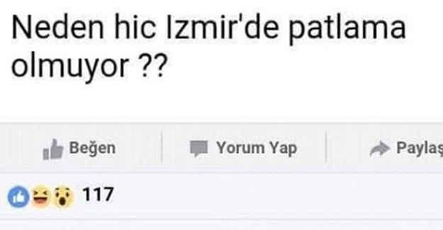 """Neden İzmir'de patlama olmuyor"""