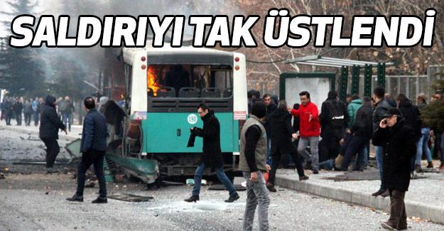 O Saldırıyı PKK-TAK Üstlendi