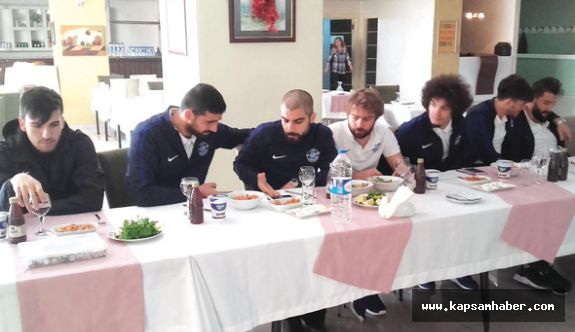 Adana Demirspor'a moral yemeği