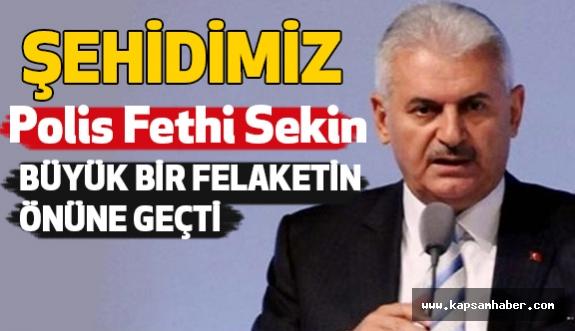 Başbakan'dan İzmir'deki Saldırıyla İlgili Açıklama