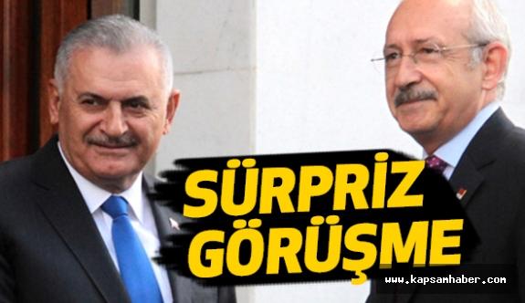 Binali Yıldırım ve Kılıçdaroğlu'ndan Sürpriz Görüşme