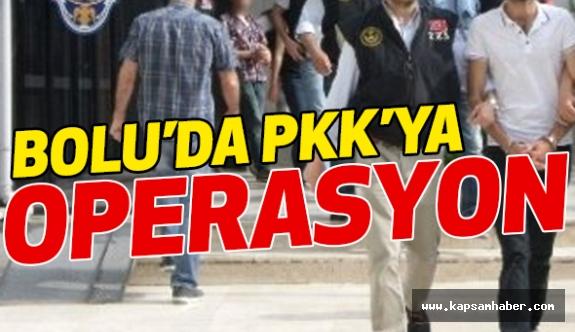 Bolu'da PKK'ya Operasyon