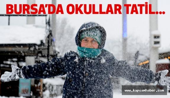 Bursa'da Okullar Tatil Edildi mi?