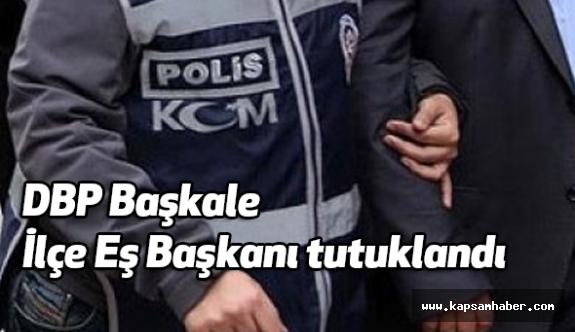 DBP Başkale İlçe Eş Başkanı tutuklandı
